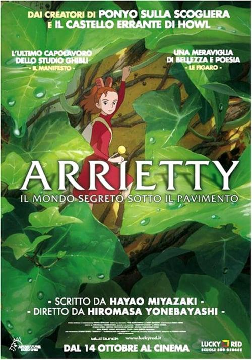 Arrietty – Il mondo segreto sotto il pavimento